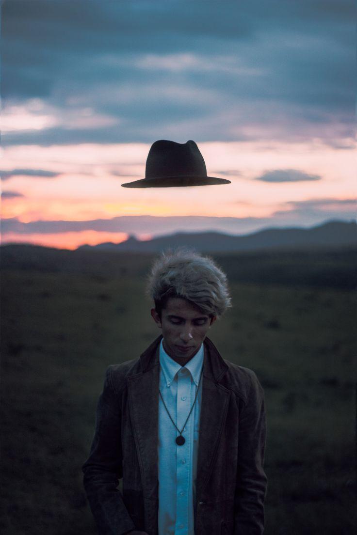 La mente por debajo del sombrero  Fotografía surreal