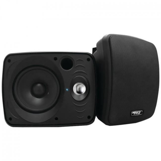 Pyle Home Pdwr64btb 6 5 Indoor Outdoor 800 Watt Bluetooth Speaker System Black Outdoor Speaker System Speaker System Outdoor Speakers