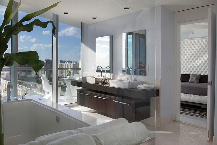 Luxurious jade ocean by britto charette contemporary - Residence moderne miami dkor interiors ...