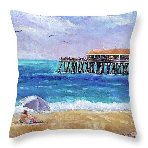 Throw pillow #coastal #decor #beach