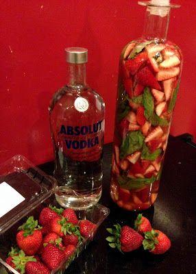 Infused vodka, Vodka and Basil on Pinterest