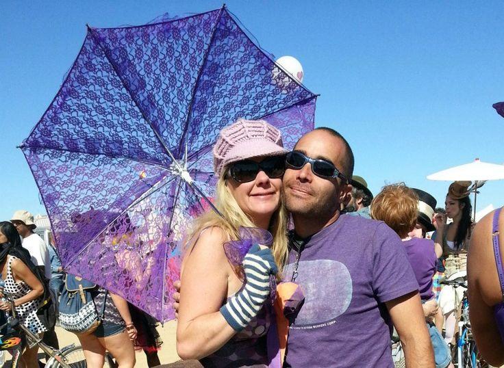 The purple wedding at Afrikaburn
