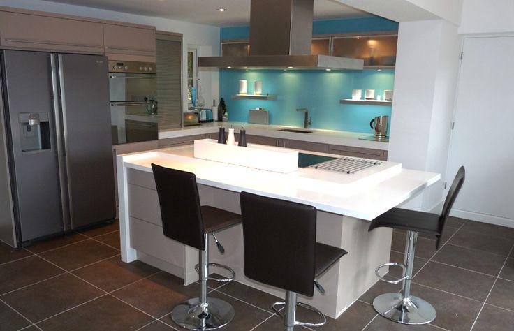 Kitchen Aqua Turquoise Blue Walls Pinterest
