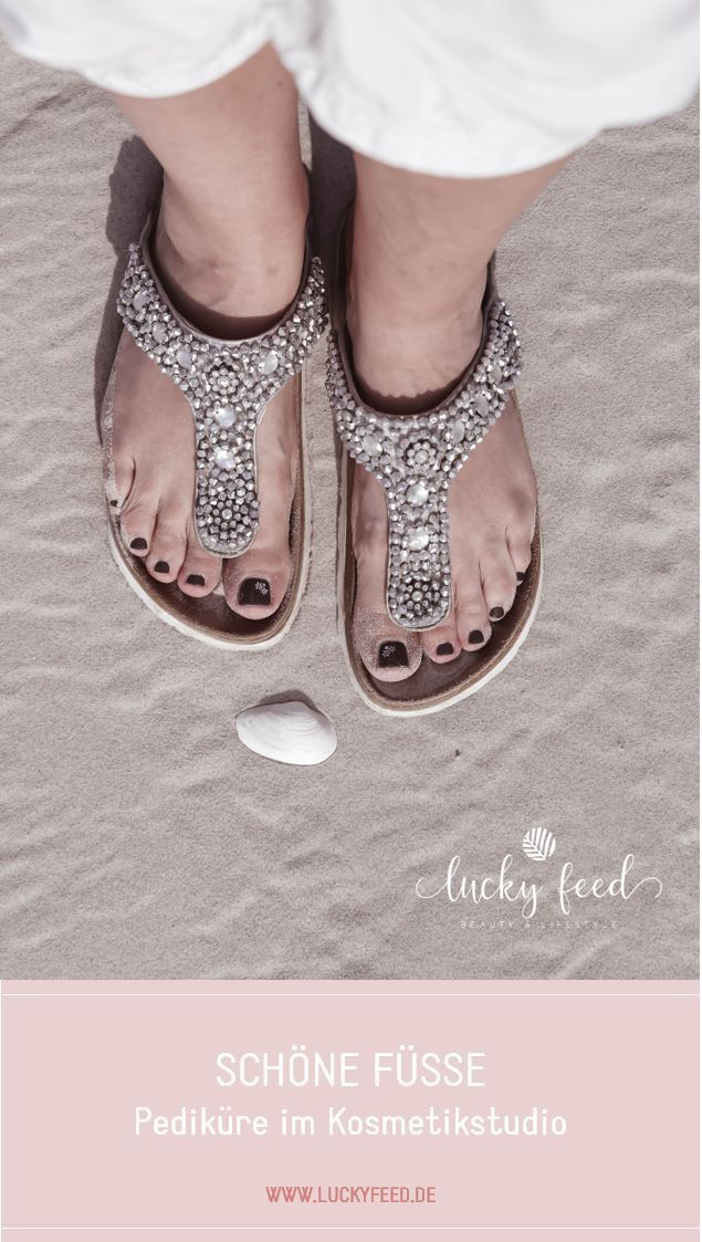 Schöne Füße mit Pediküre – # Feet #with # Pedicure # Beautiful – Nail …   – Pflege