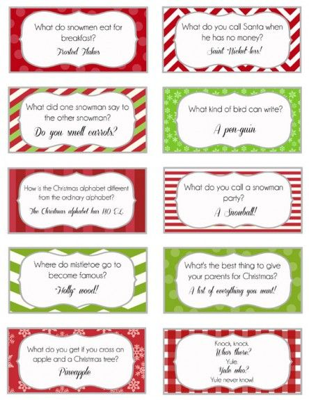 Elf on the Shelf - Printable Joke Cards | Over The Big Moon