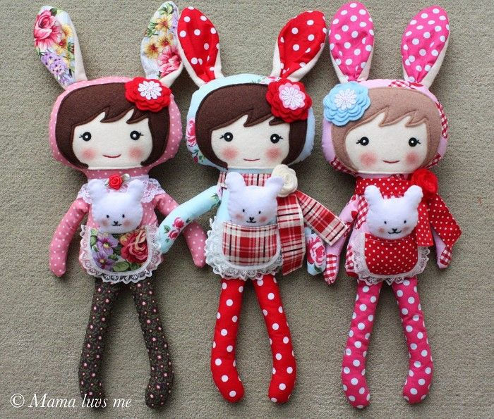Bunny Ear Dolls Ax