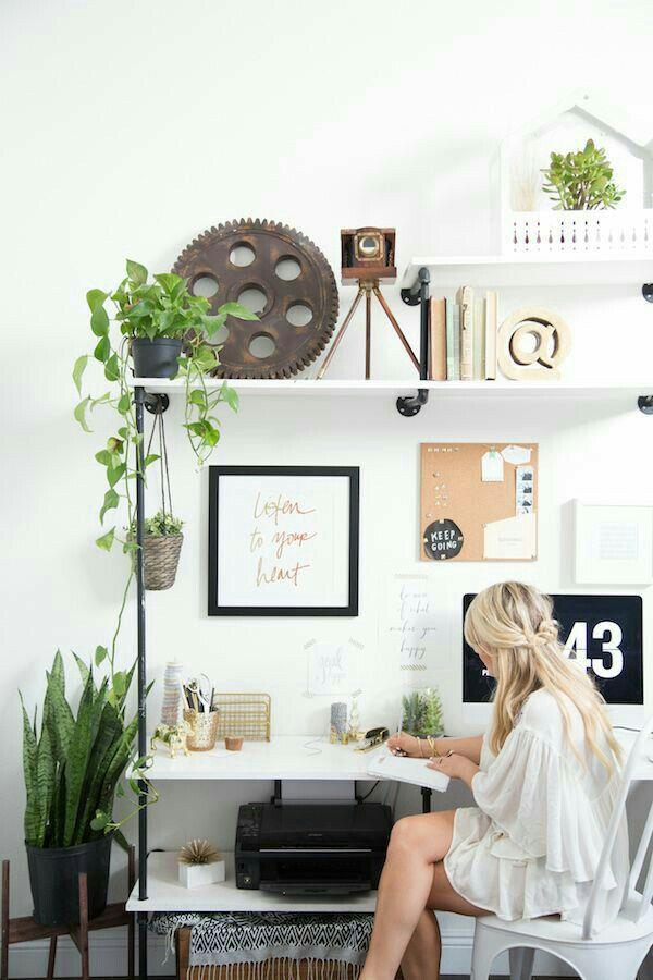 Un poco de naturaleza para la creatividad  -Nordic Interior Design-