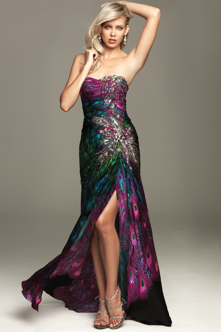 :)Evening Dresses, Fashion, Ball Gowns, Style, Bridesmaid Dresses, Colors, Prom Dresses, Peacocks Dresses, Allure A411