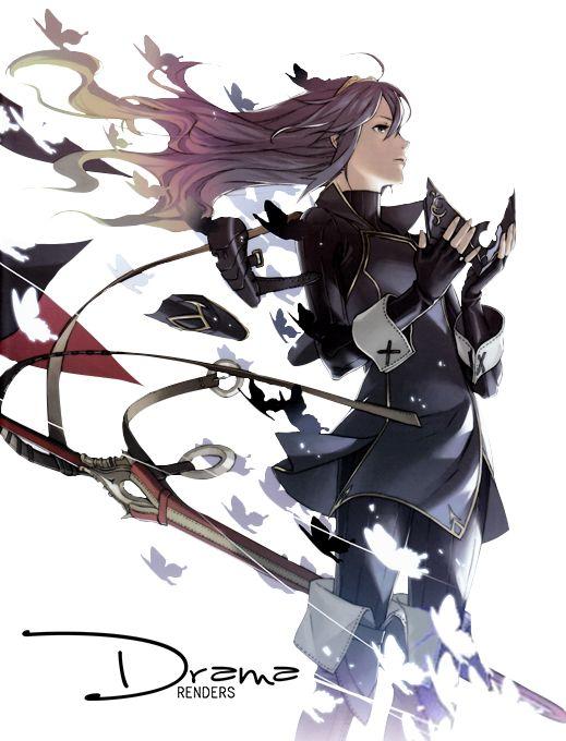 Fire Emblem Awakening: Lucina Render by DramaSama ...
