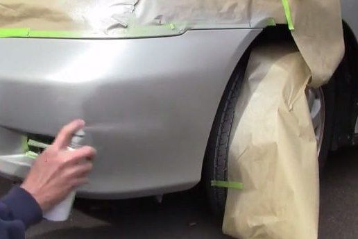 diy car bumper scratch repair