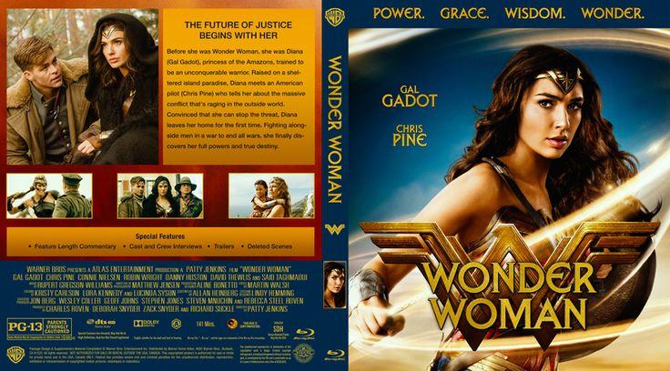 Wonder Woman (2017) Blu-ray Custom Cover