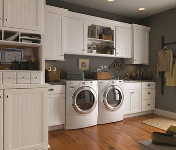 Projects - traditional - laundry room - new york - TOP DRAWER CUSTOM CABINETRY