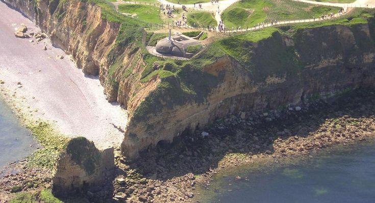 La pointe du Hoc, Calvados, Basse-Normandie
