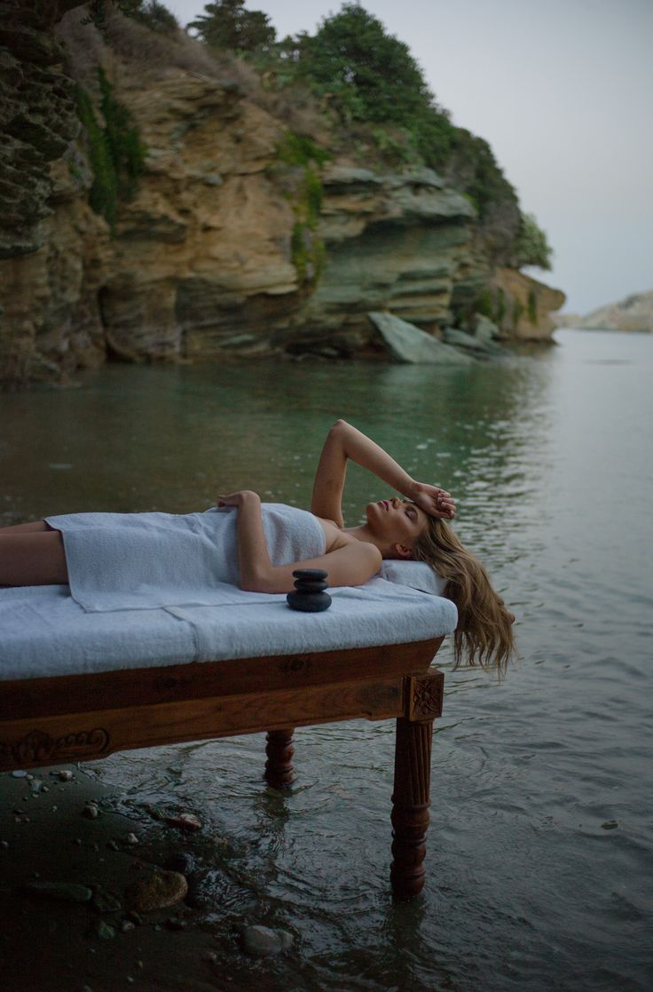 Massage Bed - Sea