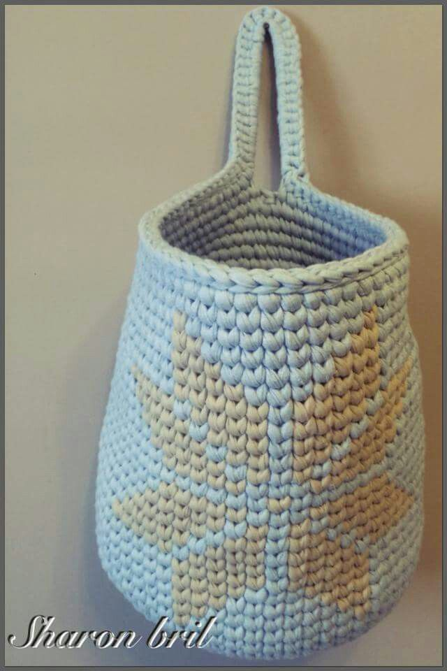 Tapestry basket