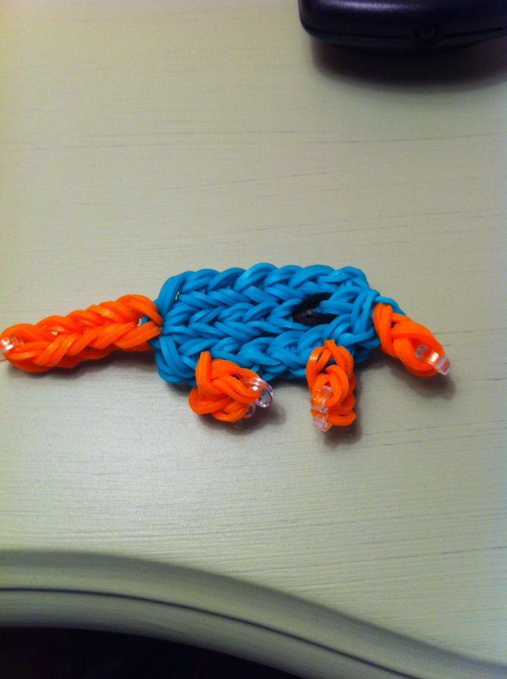Rainbow loom perry the platypus!