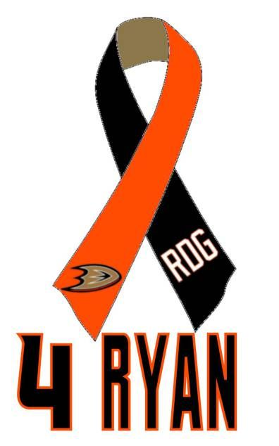 Ribbon made for Ryan Gillis