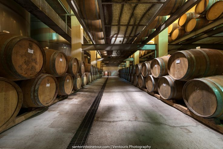 Wooden #barrels of wine