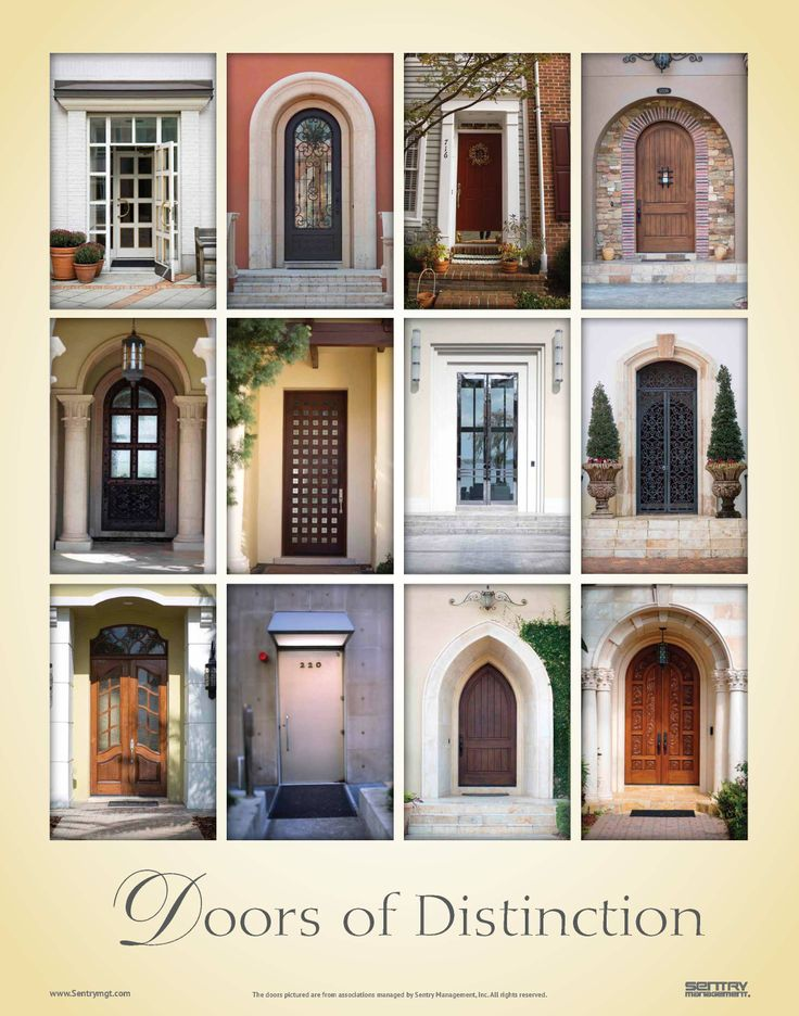 The  Doors of Distinction  poster shows the winning entries to our 2013 contest to & 21 best Doors of Sentry Management - Florida images on Pinterest ... pezcame.com