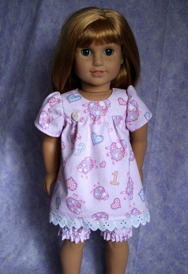 Sewing patterns and doll clothes by Oh Sew kat! Easy to learn to sew, photo tutorials. Print at home. www.ohsewkat.com #ohsewkat #welliewishers #agig #americangirlbrand