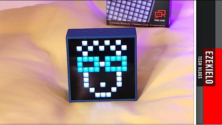 Divoom TimeBox Mini Programable Pixel Art Speaker Review!
