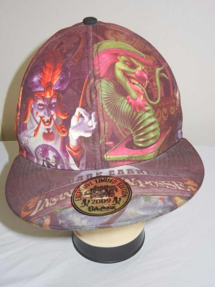 xl leather baseball cap size insane clown posse the dark carnival hat fitted 2xl caps