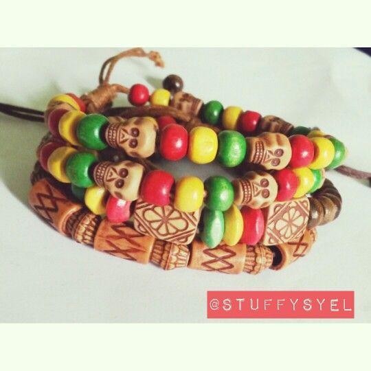 Gelang etnik tengkorak // Skull Bracelet