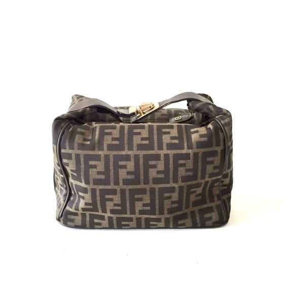 Authentic Fendi Zucca Vintage Cosmetic