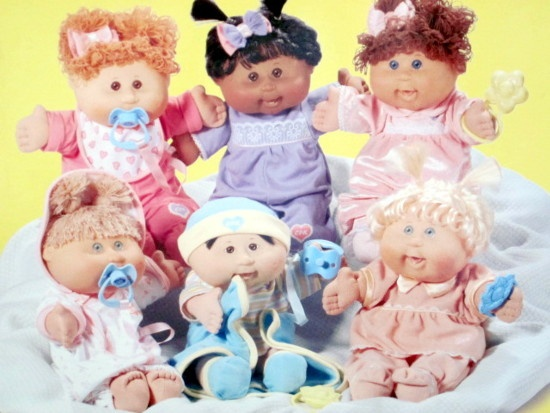 Cabbage Patch Kids- not sure why I liked these but I did!