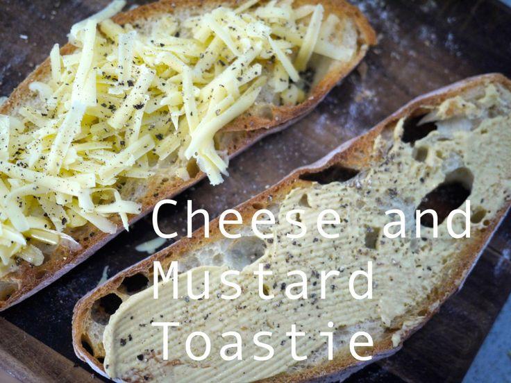 cheese and mustard toastie
