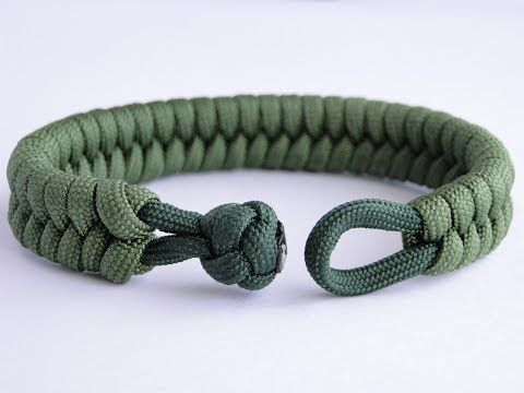 ANHÄNGER: Typ-Y Paracord Armband Knot and Loop | Exklusiv bei Patreon – YouTube   – Paracord