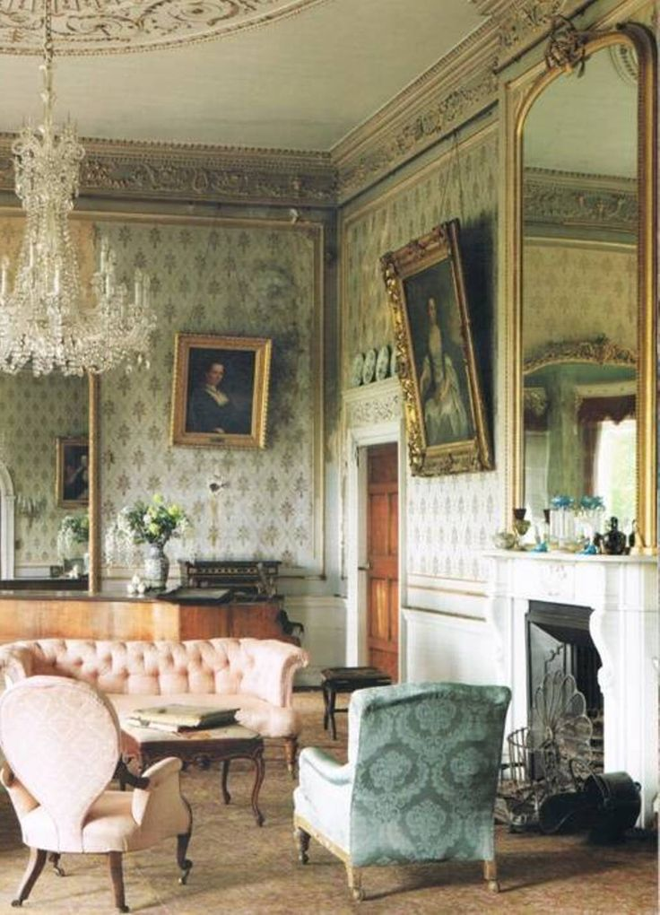 Vintage Home Interior Design: Victorian House Interior Designs In 2019
