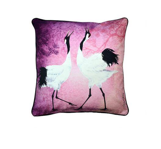 Myrte sisustustyyny, Dancing cranes