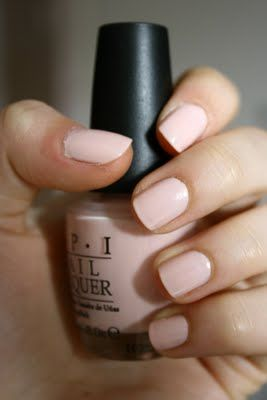 OPI Sweetheart. Must find and buy! Great everyday color.