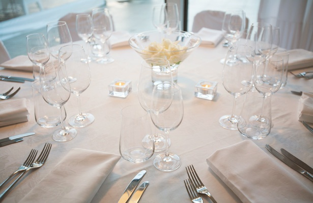Mantells On The Water - Table Setting