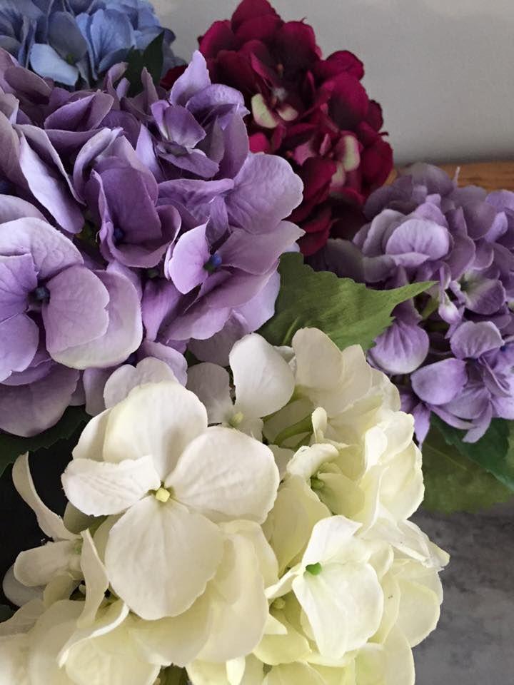 Silk Hydrangeas