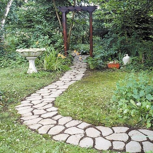 Making A Wonderful Garden Path Ideas Using Stones: Pinterest • The World's Catalog Of Ideas