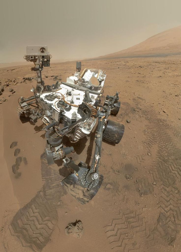 Curiosity Rover self-portrait: Mars Rovers, Planets, Curio Rovers, Curiosities Rovers, Rovers Curio, Self Portraits, Camera, Mars Curio, Science