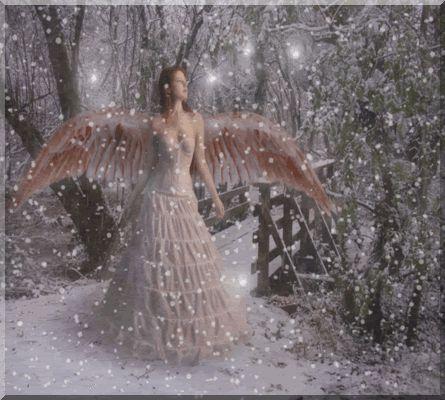snow angel wallpaper cartoon - photo #44