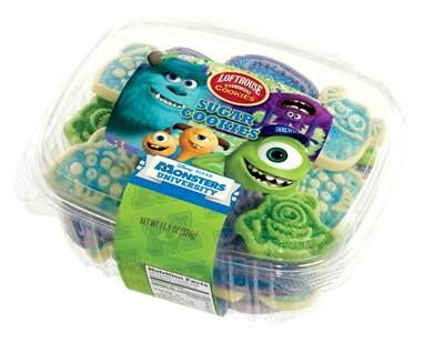 Perfect!  Monsters Inc cookies by Lofthouse! Thank you, @Brianne Mansfield <3