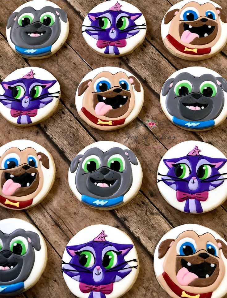 Gorgeous Puppy Dog Pals Cookies For A Birthday Party Puppy