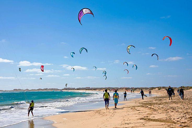 Kite Beach, Sal Island | Cape Verde's best beaches, island by island guide | Weather2Travel.com #travel #beach #capeverde #holiday