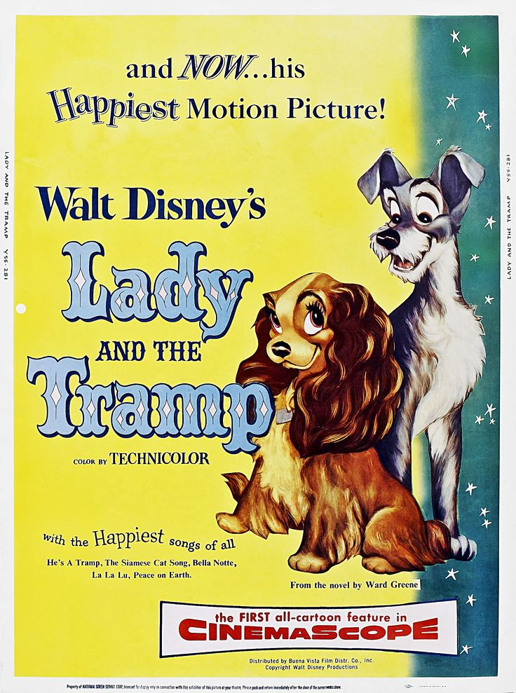 disney movie analysis lady and the tramp Sneaky si and am play the victim and let lady take the fall after being destructive.