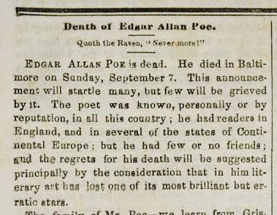 Edgar Allen Poe the Raven
