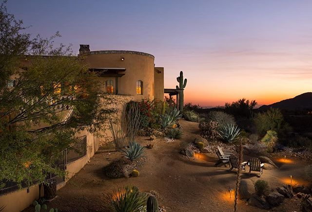 #sunset over #whisperrock at this beautiful #newlisting for the #lpgluxurygroup @jay.pennypacker  Really cool #desert fireplace and sitting area off to the right. . . . . . . #architecture #architecturephotography #archilovers #milliondollarlisting #northscottsdale #luxuryrealestate #luxuryhomes #customhomes #golfcourse #twilight #lightpainting #nikon #profoto - posted by Eric Kruk https://www.instagram.com/erickrukphoto - See more Luxury Real Estate photos from Local Realtors at…