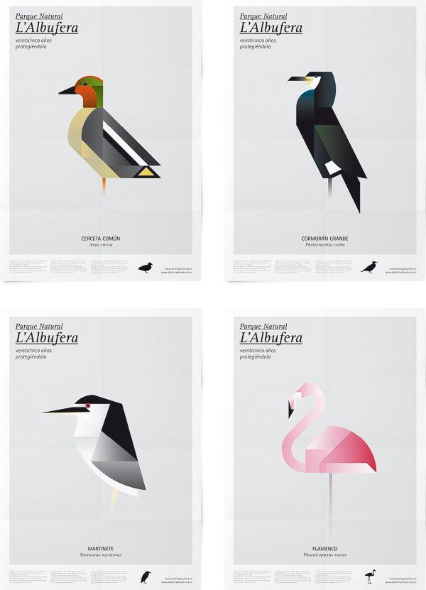 Carteles para el Parque Natural de l'Albufera de Valencia por Manuel Martín Arenas   Diseño y Comunicación   Experimenta