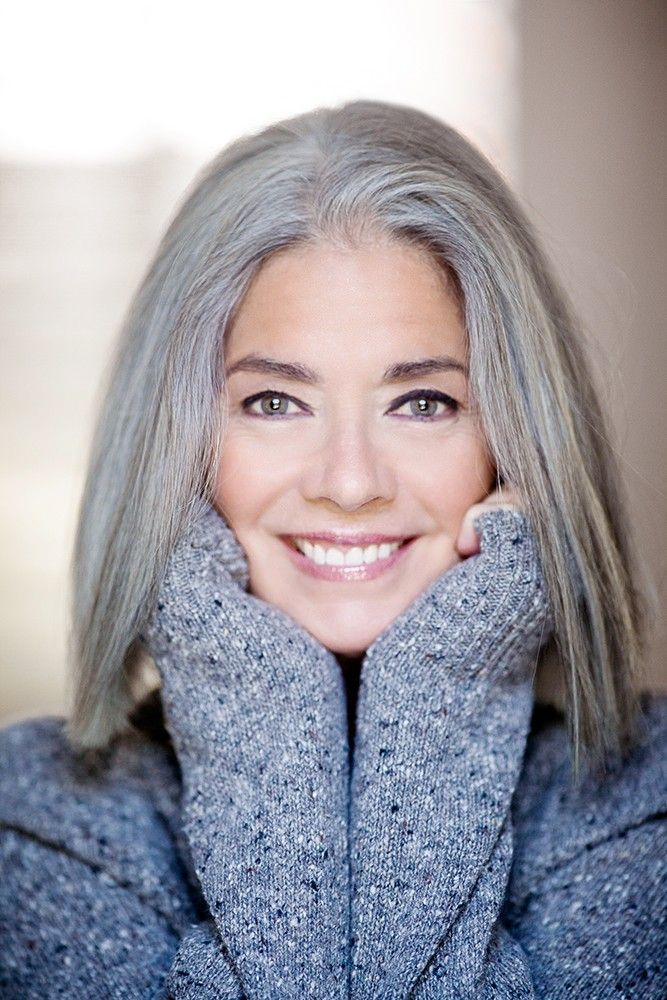 Natural Grey hair models showcasing their beautiful hair showing the world that silver hair is beautiful and that beauty is evident at every stage of life.