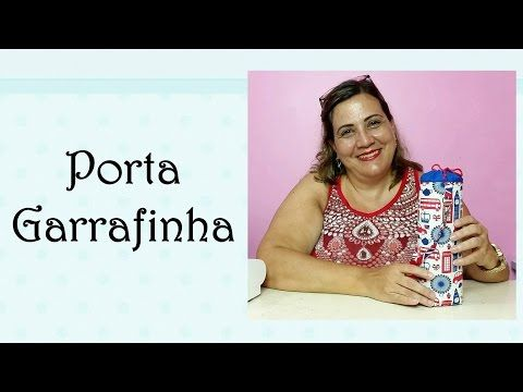 Patchwork - Porta Garrafinha - YouTube