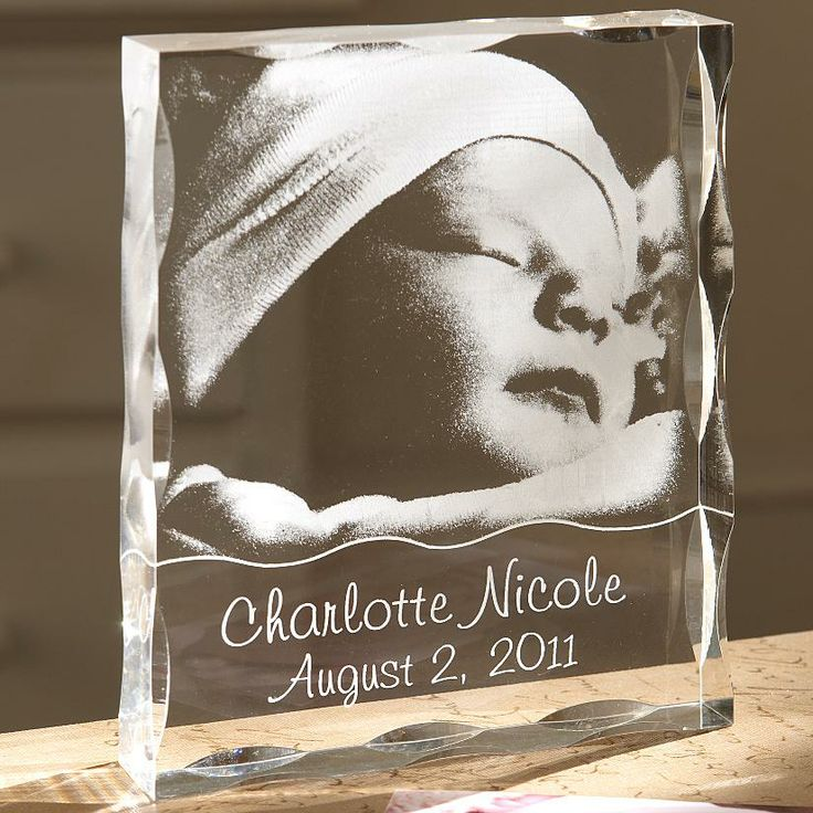 Baby Acrylic Photo Block