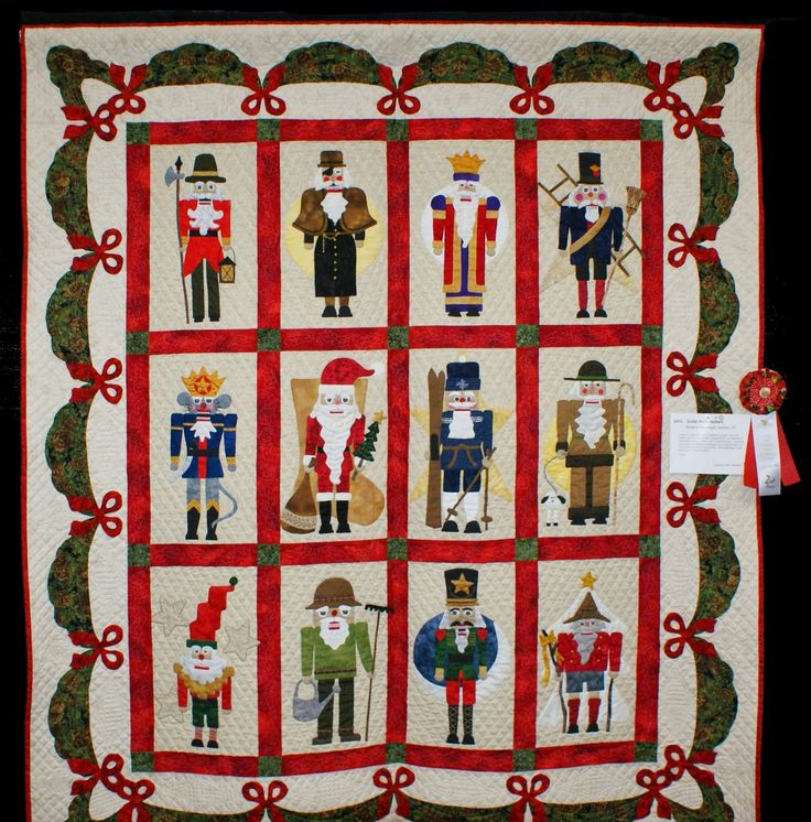 Quot Suite Nutcrackers Quot Quilt By Barbara Massengill Of Sanford